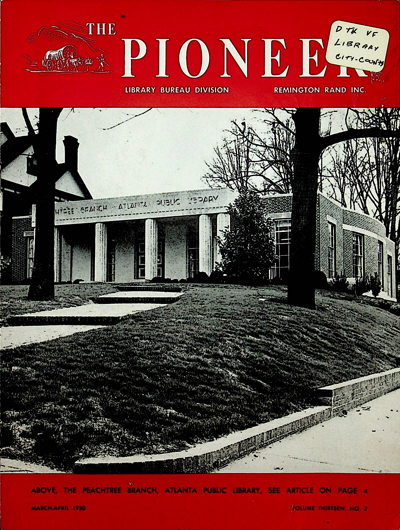 The Pioneer, March/April 1950