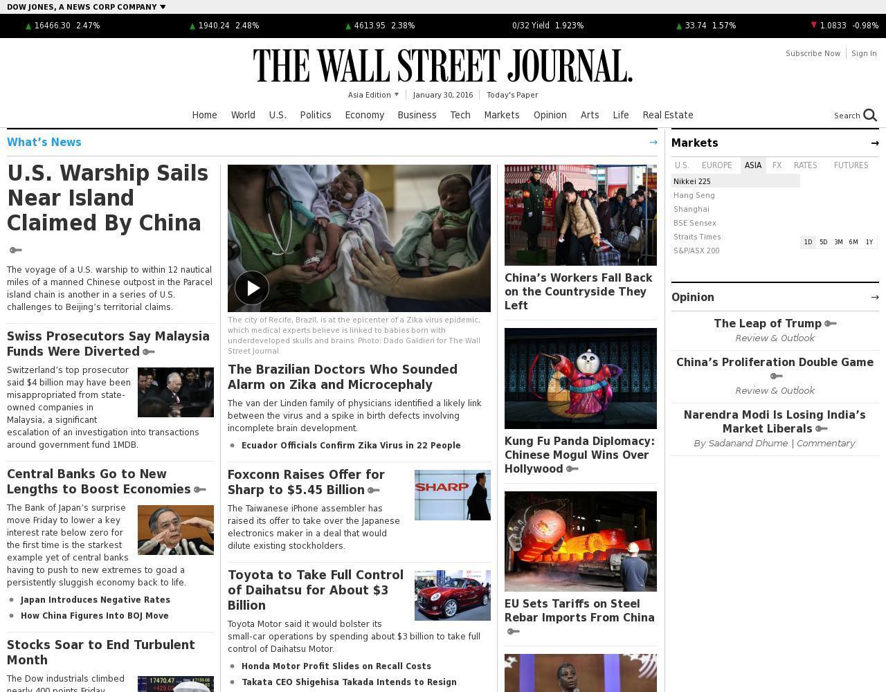 The Wall Street Journal (Asian)
