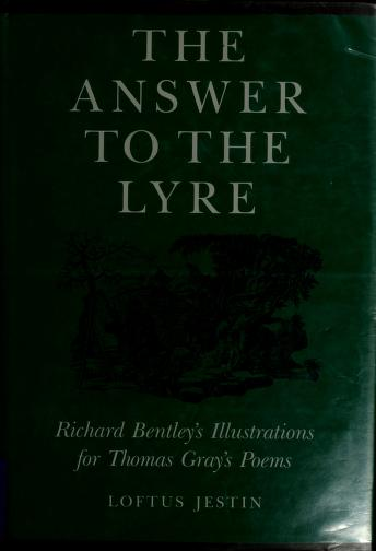 Cover of: The answer to the lyre | Loftus Jestin