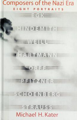 Cover of: Composers of the Nazi era   Michael H. Kater