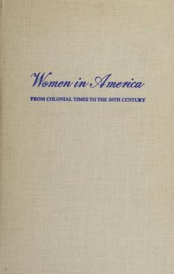 Cover of: History of women in industry in the United States | Helen Laura Sumner Woodbury