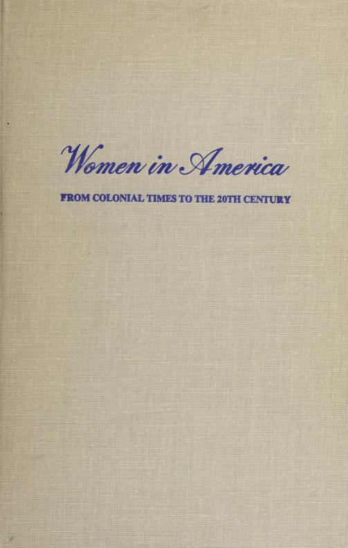 History of women in industry in the United States by Helen Laura Sumner Woodbury