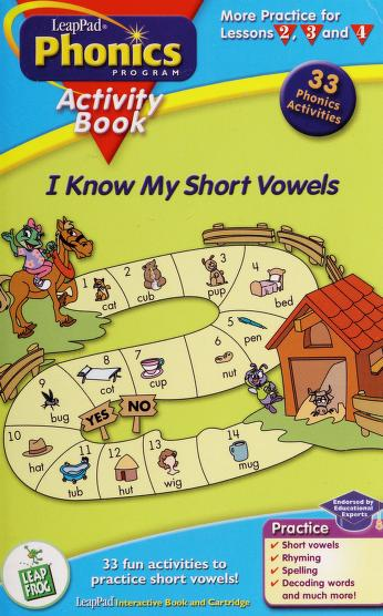 Cover of: I know my short vowels | LeapFrog (Firm)