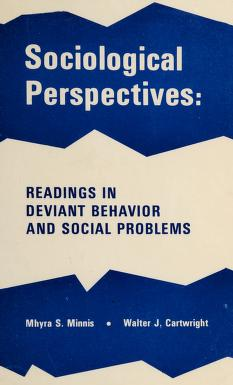 Cover of: Sociological perspectives | Mhyra S. Minnis