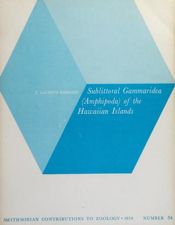 Cover of: Sublittoral Gammaridea (Amphipoda) of the Hawaiian Islands | J. Laurens Barnard
